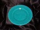 Metlox Popytrail Vernon 200 Satin Turquoise Luncheon Plate