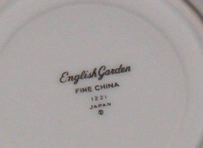 Fine China Japan English Garden Saucer