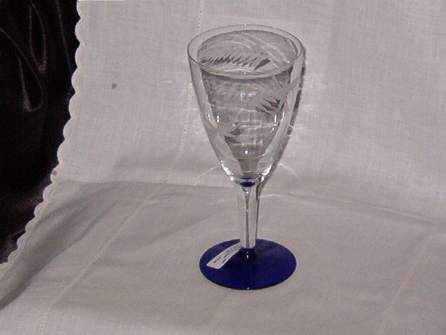 Weston Glass Co. WGL1 Water Goblet