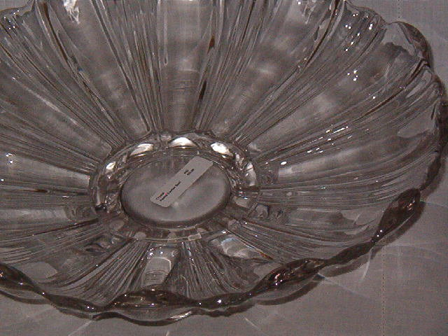 Crystal Footed Garden Bowl