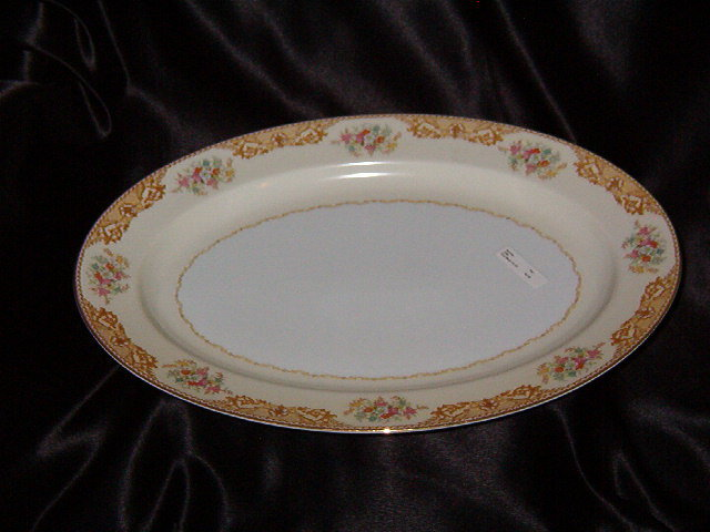 Noritake China N380 Oval Platter