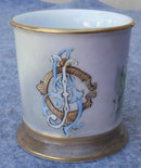 Antique Vintage Masonic Fraternal Shaving Mug, Circa 1900