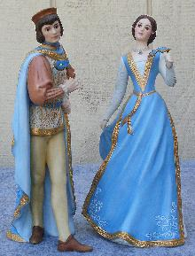 LENOX Legendary Princesses Figurine Romeo and Juliet