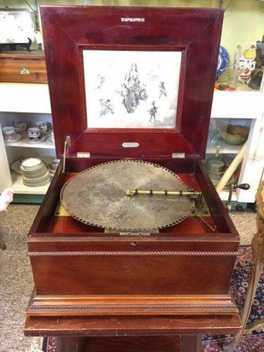 Antique / Vintage Sherman & Clay Music Box