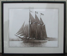 Tall Ship photograph, Large Real Photo, SF Bay