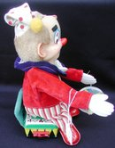 Yo Yo Clown 1950's Battery Op Toy, Japan