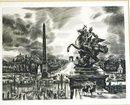 Albert Decaris 1901 Black & White Engraving