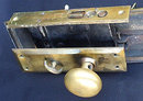 Vintage Brass Door Push Plate/ Pull Handle