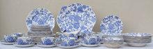 pcs.Vintage Johnson Bros.Blue/White China