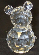 Swarovski Crystal Bear signed 3