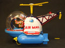 Vintage Air Mail Helicopter Battery Operated Toy Japan