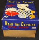 Vintage Bear The Chasier Battery Operated Tin Toy Japan