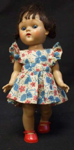 2 Vintage 1950's Vogue Ginny Dolls 8