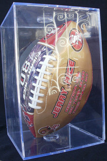 Jerry Rice San Francisco 49ERS Autographed NFL Football