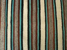 Vintage Native American Rug 32 x 60 Navajo