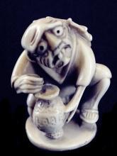 Antique Ivory Netsuke - The POTTER