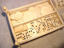 Scrimshaw Napoleonic P-O-W Dominoes Set