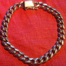 Heavy 14K  Chain Bracelet