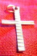 Italian 18K Gold Cross