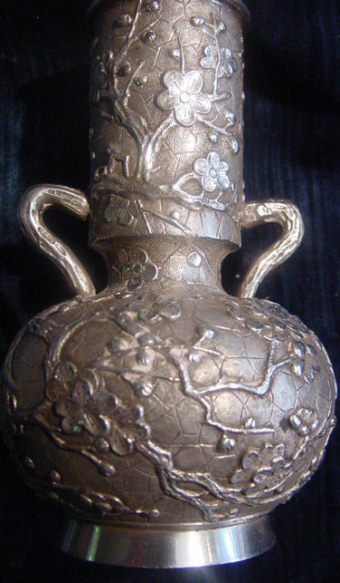 Splendid China Trade Silver Vase