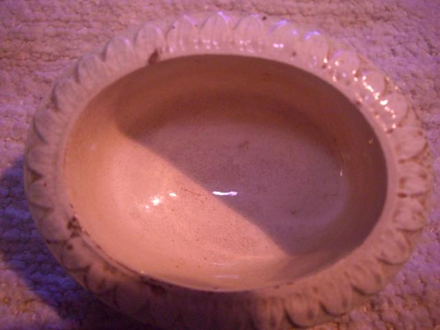 English Creamware Jellied Egg Mould