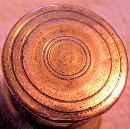 Miniature Classical Brass Mortar