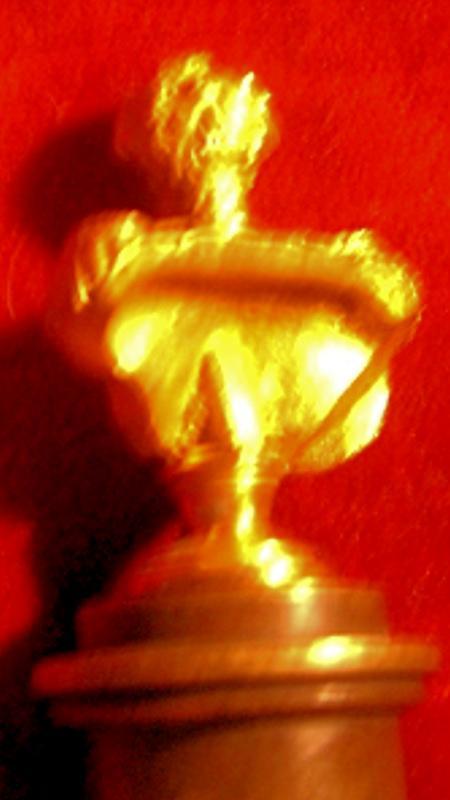 MIniature Ormolu Bust of King George IV