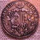 1710 Geneva Swiss Silver 21 Sols