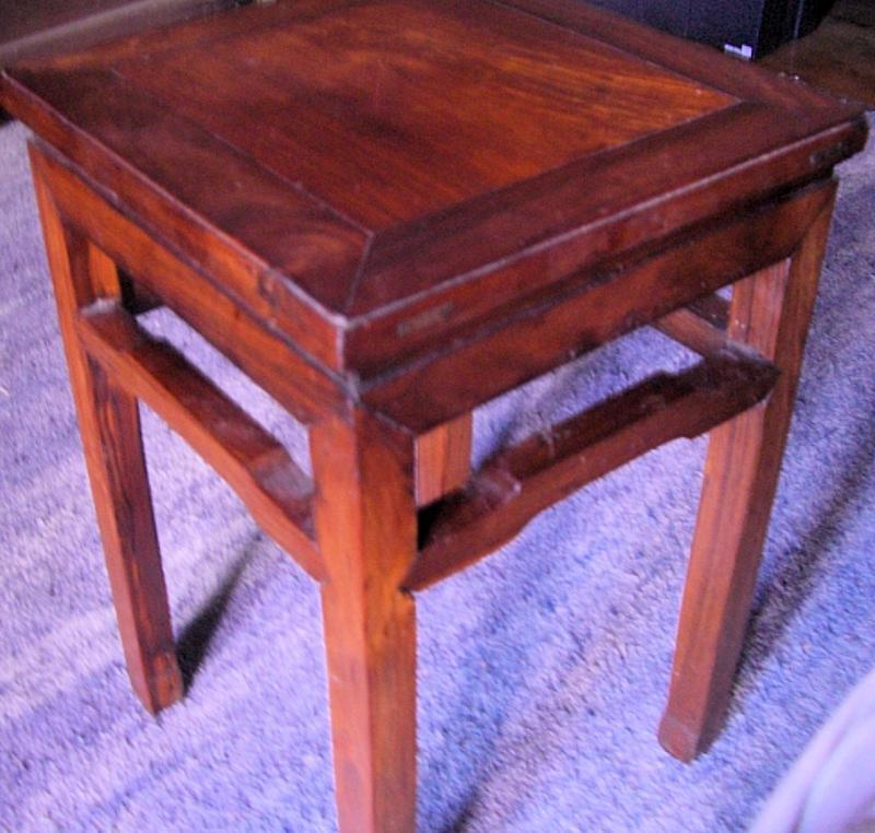 Chinese Huanghuali Table/Stool