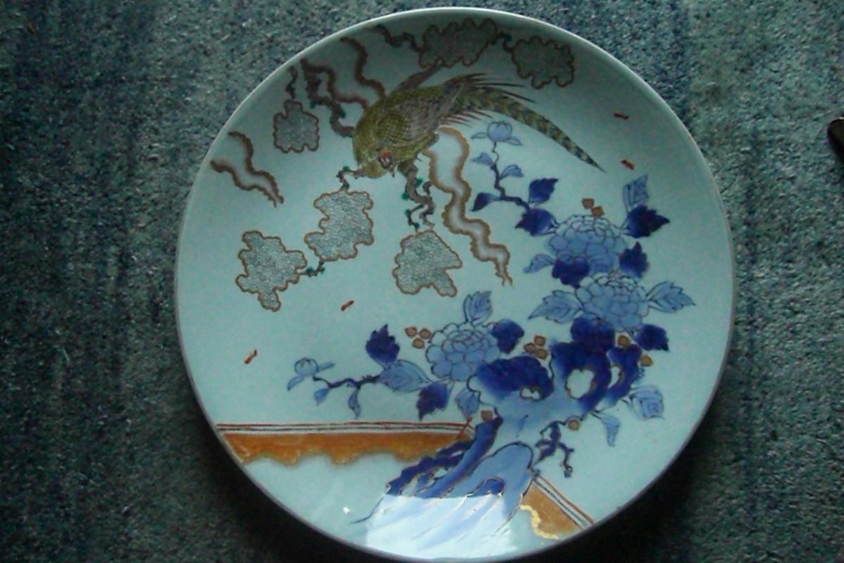 Masterpiece Imari Porcelain Charger