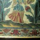 Louis XIV Needlepoint Panel:
