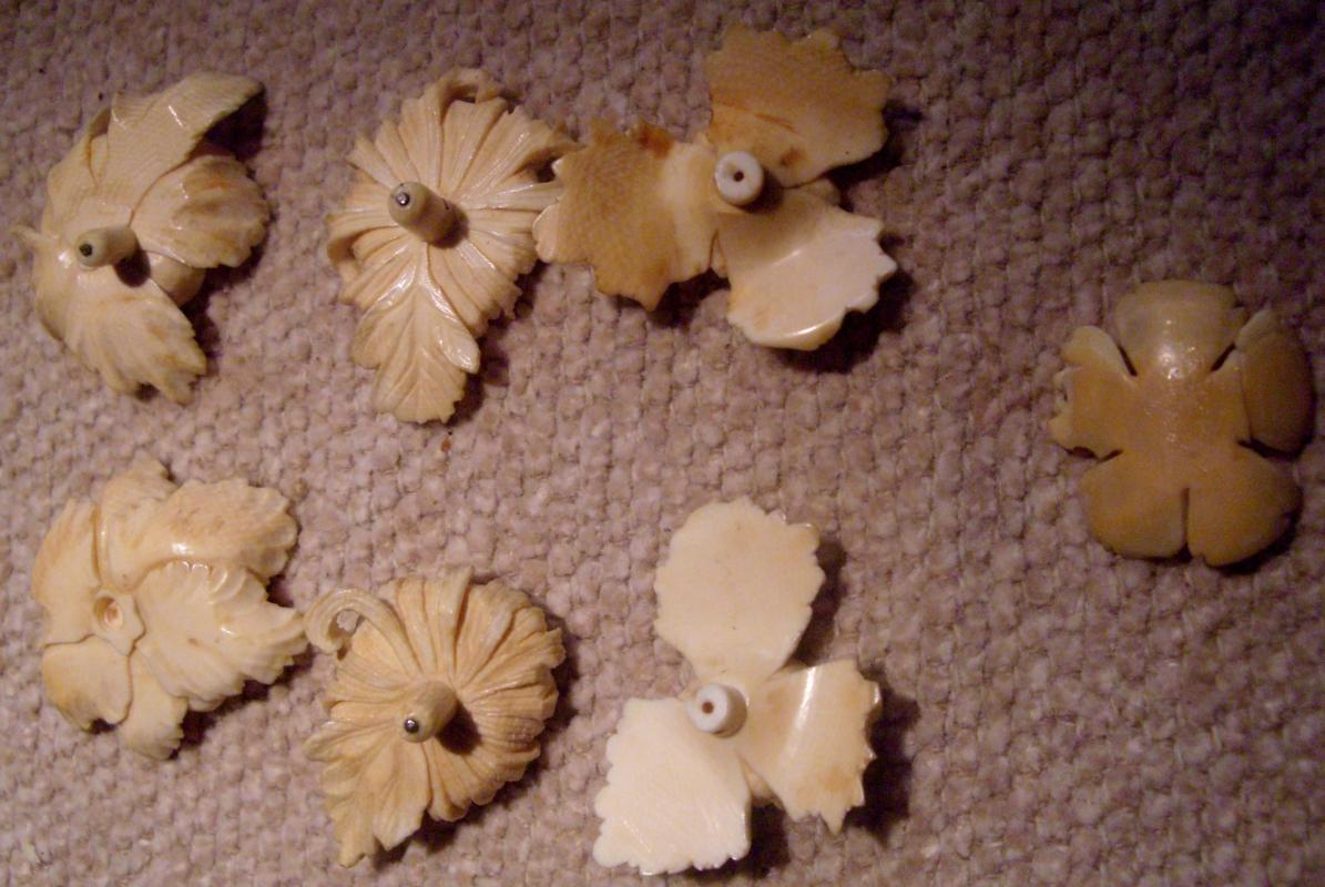 Chinese Ivory Flowers
