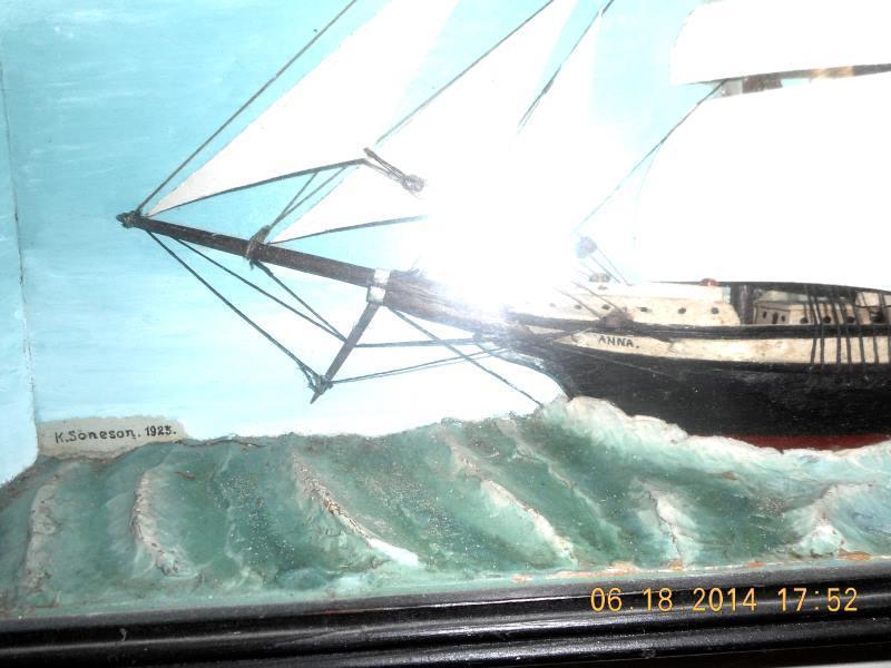 Clipper Ship Diorama