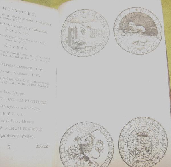 Histoire Metallique de la Republique de Holland - 1689