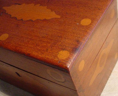 Scrimshaw Ditty Box
