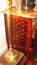 Tall Persian Brass Candlestick