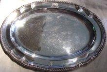 George III Sterling Platter