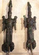 Etruscan Bronze Belt Hooks