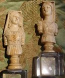 16th Century Ivory Chess Pieces