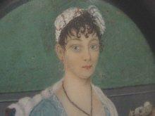 Portrait Miniature of a Seated Beauty