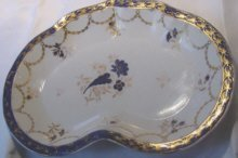 Caughley Porcelain Dessert Dish
