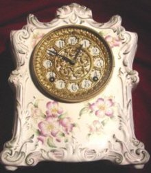 "Ansonia Mantle Clock ""Choktaw"""
