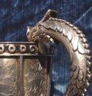 Moorish-Style Silver Ewer By Tane