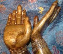 Antique Indian Bronzes: Hands of Shiva