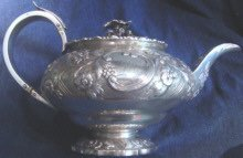 William IV Sterling Tea Service