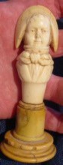 18th Century French Figure In Ivory