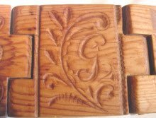 Antique Folding Butter Mould