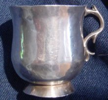 Spanish Colonial Silver Cup