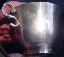 Elegant Spanish Colonial Silver Cup