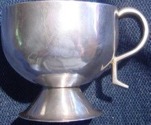 Antique South American Colonial Silver Cup